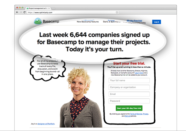 Social Proof - Basecamp