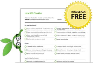 Free Local SEO Checklist