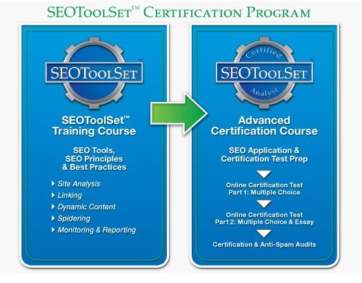 SEOToolSet Certification