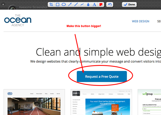 Free Screenshot Editor Tool