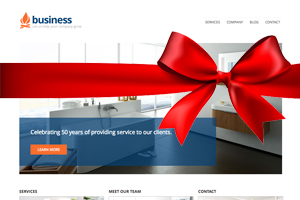 Free Small Business WP Theme