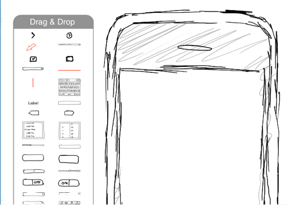 Free mobile wireframe tool