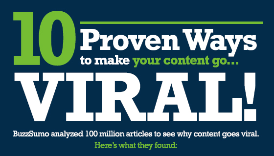 What makes your content go viral