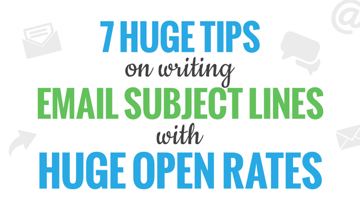 how to write email subject line
