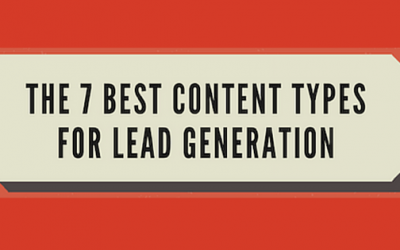 The 7 Best Content Types for Lead Generation