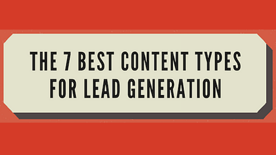 best content for lead gen