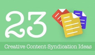 23 Creative Content Syndication Ideas