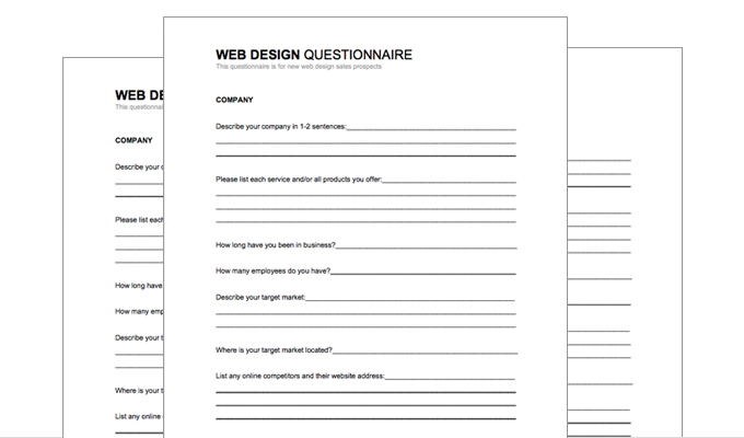 Interior design questionnaire for clients pdf for Garden design questionnaire