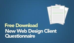 Free Download: New Web Design Client Questionnaire