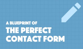 A Blueprint of The Perfect Contact Form #Infographic