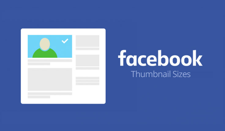 Facebook Thumbnail sizes