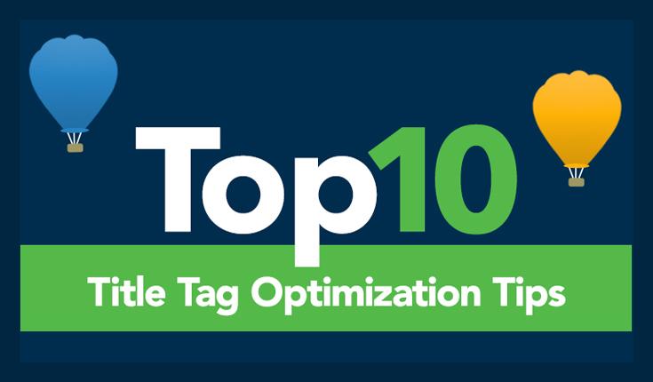 Title Tag SEO Tips