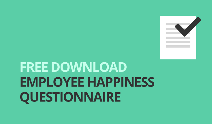 Employee happiness questionnaire agencies