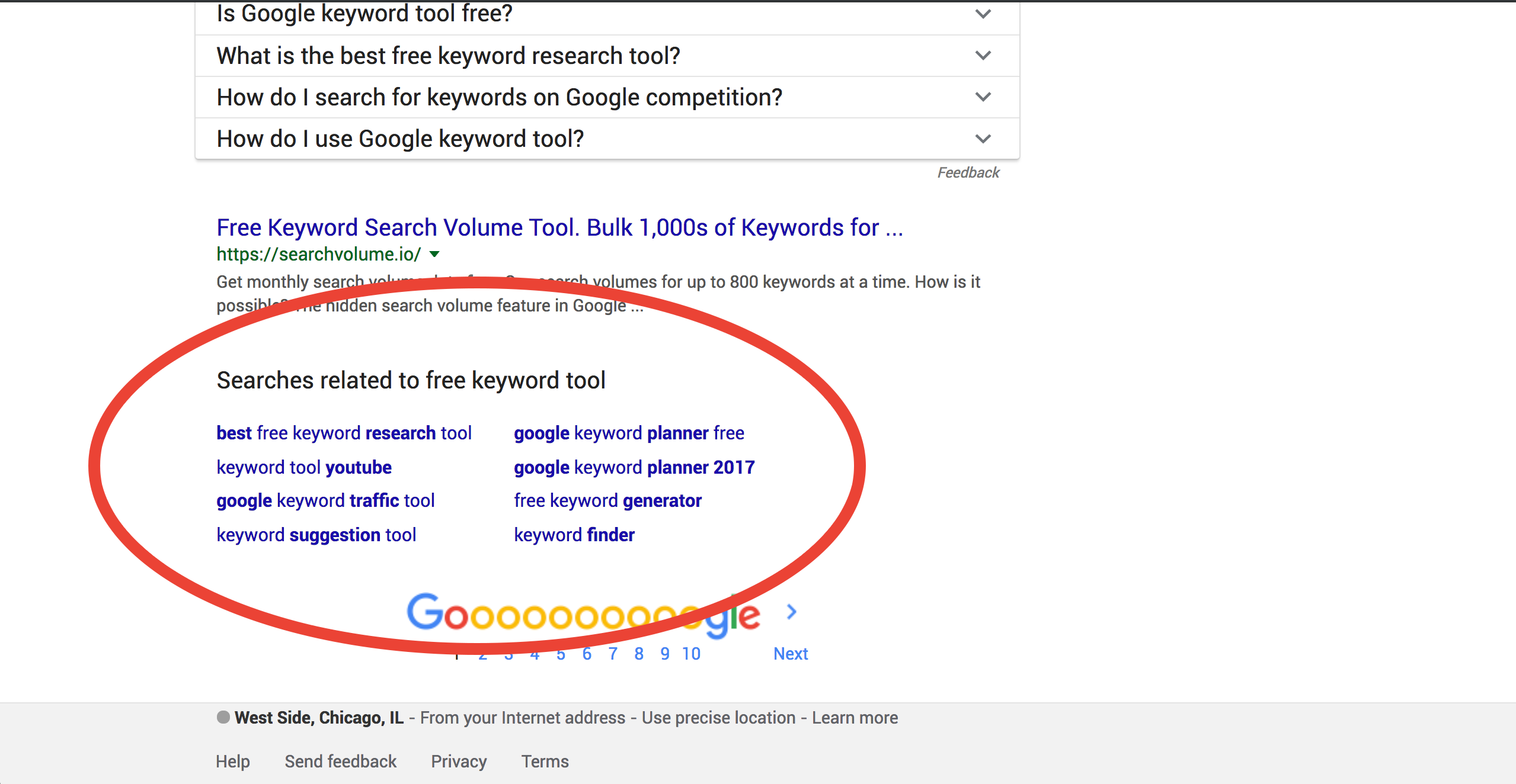 free keyword research generator