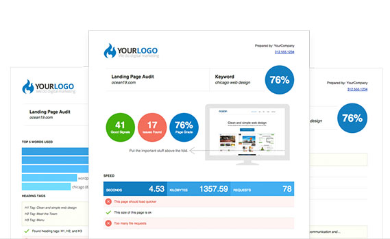 Free SEO Audit Report Tool - White Label & Embed Options