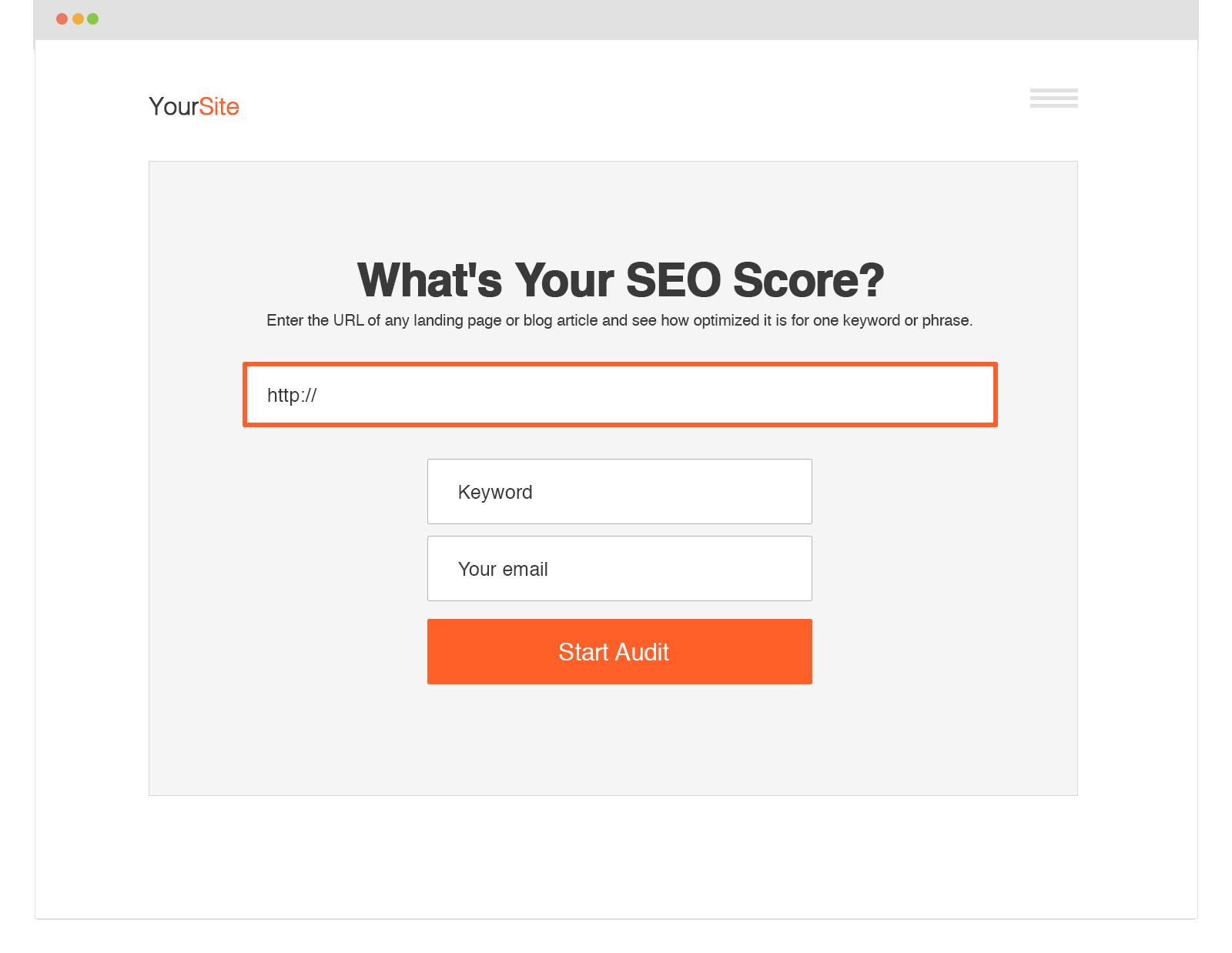 free seo audit tool - white label