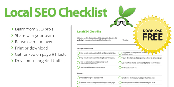 Local SEO Checklist